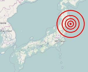 Sendai Earthquake And Tsunami OpenStreetMap Wiki - Japan 2011 map