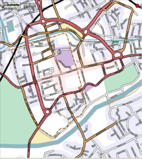 Free map of Chester, UK