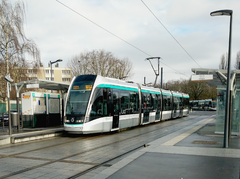 One example for Élément cartographique : Trams
