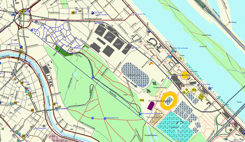 File:Praterpark und Sportanlagen in Garmin Mapsource 200m.png