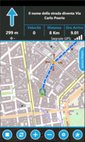 Screenshot of GPS Navigator aSpass