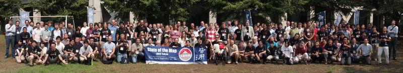 SOTM12 Tokyo attendees
