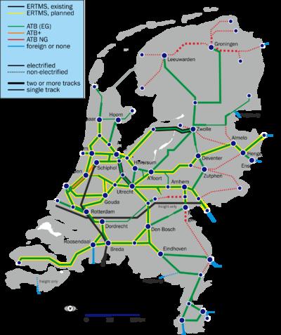 OpenRailwayMap/Tagging in Netherlands - OpenStreetMap Wiki