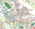 Urban accessibility map of Castelfiorentino.png