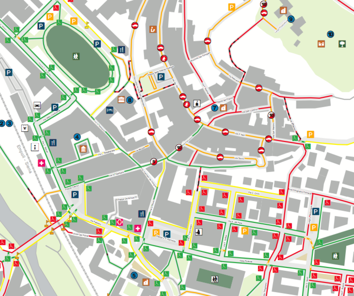 File:Urban accessibility map of Castelfiorentino.png