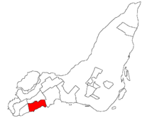 Map of Beaconsfield
