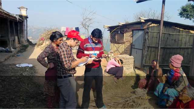 Data Collection Efforts in Nepal After the 2015 Earthquake