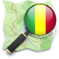 Logo of the OpenStreetMap community in Mali (OSM ML).