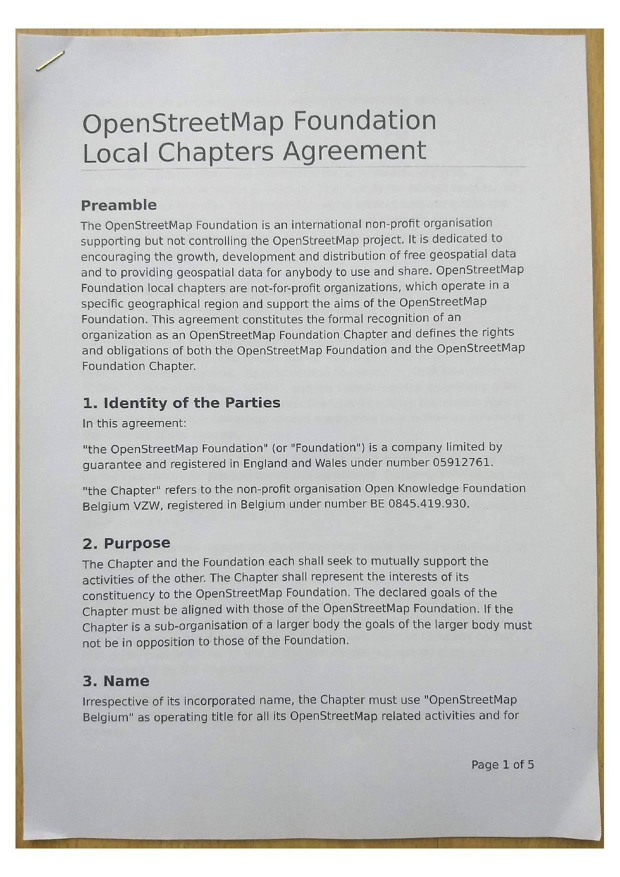 Fileosmf Osmbelgium Local Chapter Agreementpdf Openstreetmap Wiki