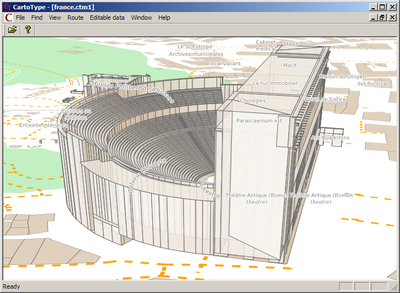 OSM Orange RomanTheatre 3DRendering.png