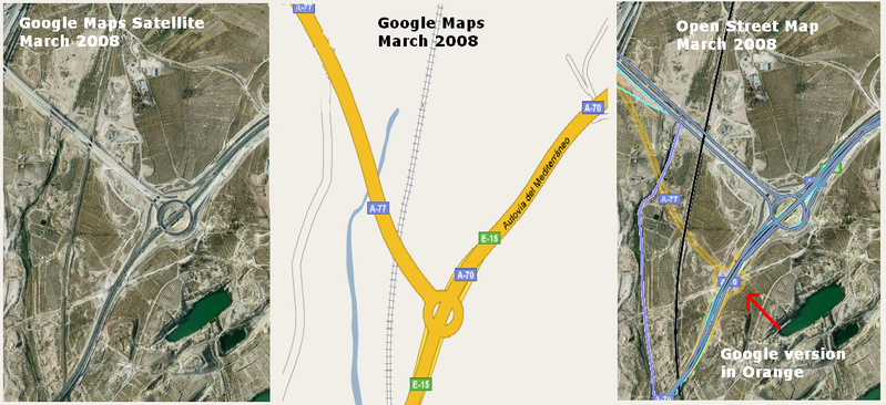 File:OSM vs Google Maps March 2008.PNG