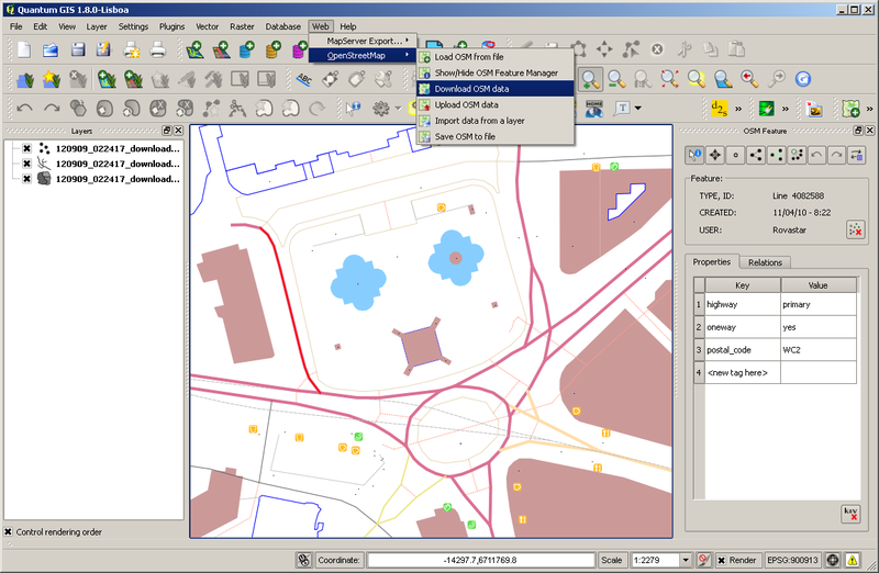 File:QGIS OpenStreetMap plugin screenshot.png