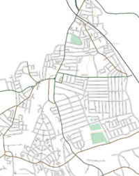 Map of Catford