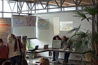 Der OpenStreetMap-Stand bei den 4. Abenteuertagen in Glauchau