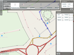 Screenshot of Mapzen