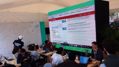 Mexico City earthquake mapping event.jpg