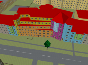 OSM2World Screenshot 1
