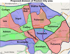 Map Of Preston Preston   OpenStreetMap Wiki