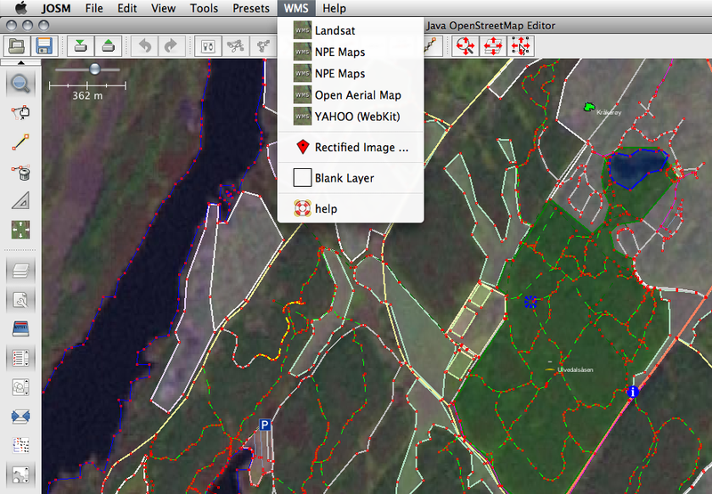 File:Area editing from Landsat imagery in JOSM.png