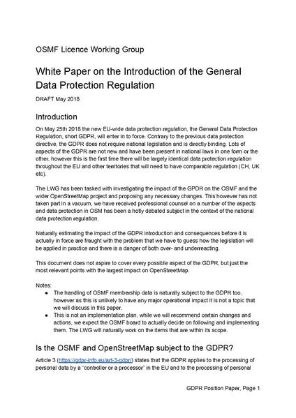 FileGdpr Position PaperPdf  Openstreetmap Wiki
