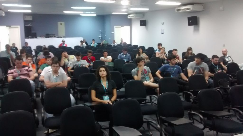 Público da Palestra na Latinoware 2014, Foz do Iguaçu, Brasil.
