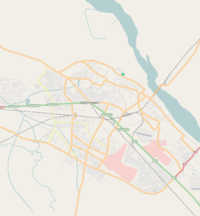 Map of Kanpur