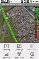 Screenshot of Open GPS Tracker
