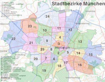 Karte München Stadtteile.München Openstreetmap Wiki