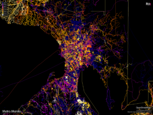 1 year of edits in Metro Manila 2012-01-01.png