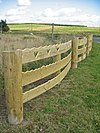 Wooden Fence - geograph.org.uk - 1499882.jpg