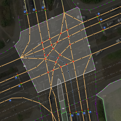Complex isect7 reality mapped lanes in intersection area.png