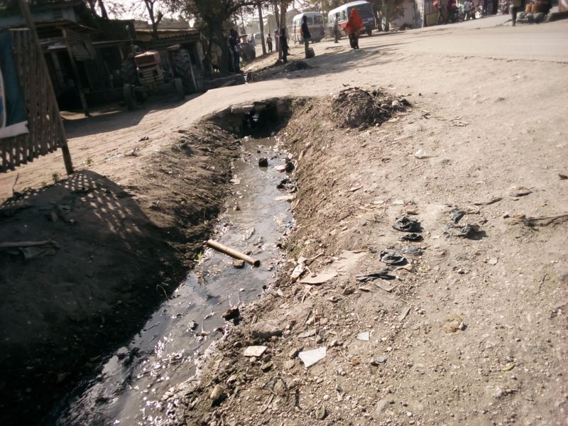 File:Drain ditch open.jpg