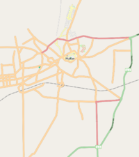 Map of Multan