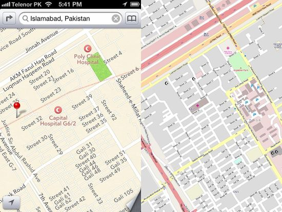 Apple maps openstreetmap blog gumiabroncs Image collections