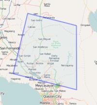 PhilippinesHighresolution Imagery OpenStreetMap Wiki - Bulacan map philippines