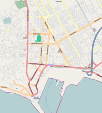 Map of Durrës