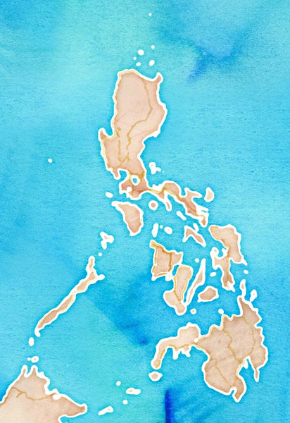 File:Philippines in Stamen's Watercolor tileset.png