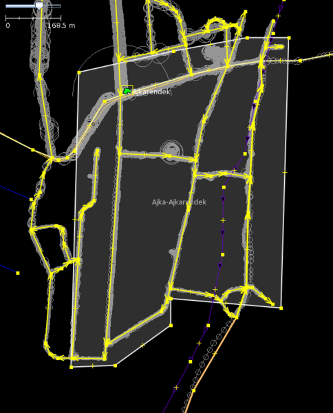 File:JOSM GPS tracing.png