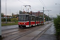 One example for railway=tram