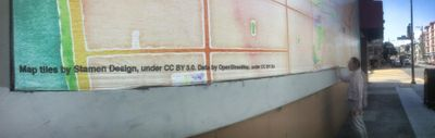 Giant OSM based billboard