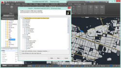 Screenshot of Spatial Manager™ for AutoCAD