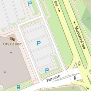 Beispiel Parkplatzmapping