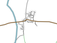 Map of Turvey