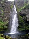 Waterfall near Keldur.JPG
