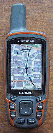 GPS series on garmin marine gpsmap