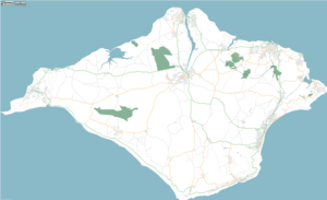 Isle of Wight by OpenStreetMap