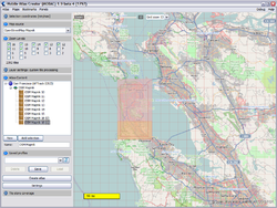Screenshot of Mobile Atlas Creator