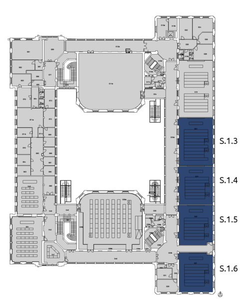 File:POLIMI - Building 3 - first floor-coloured.png