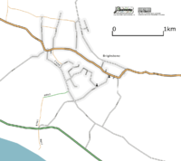 Map of Brighstone