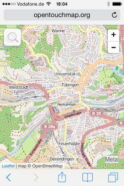 OpenTouchMap - OpenStreetMap Wiki